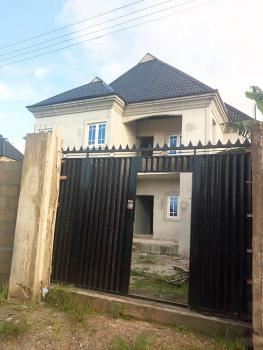 80% Complete 4 Bedroom Duplex in a Safe Environment, Sars Road, Rukpokwu, Port Harcourt, Rivers, Detached Duplex for Sale