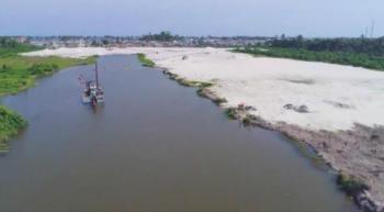 Beautiful Waterfront Land, Facing Free Trade Zone Road, Eleko, Ibeju Lekki, Lagos, Mixed-use Land for Sale