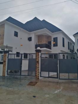 Super Luxury 4 Bedrooms Semi Detached Duplex with a Room Bq, Ikota Villa Estate, Ikota, Lekki, Lagos, Semi-detached Duplex for Sale