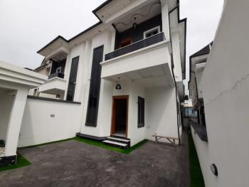 4 Bedroom En-suite Semi-detached Duplex with a Room Bq, Osapa, Lekki, Lagos, Semi-detached Duplex for Rent