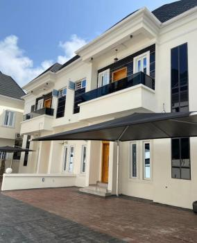 Fully Serviced 4bedroom Semi-detached Duplex with Bq with 24hrs Power, Chevron, Lekki Expressway, Lekki, Lagos, Semi-detached Duplex for Rent
