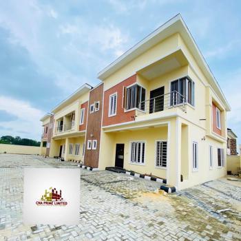 4 Bedroom Terrace Duplex and a Room Bq, Lafiaji, Lekki, Lagos, Terraced Duplex for Sale