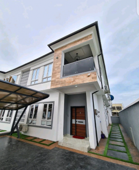 Luxury 4 Bedroom Duplex, Osapa, Lekki, Lagos, Semi-detached Duplex for Sale
