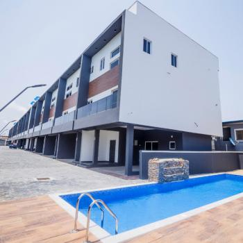 Brand New 4 Bedroom Terrace Duplex with Pool, Ikate, Lekki, Lagos, Terraced Duplex for Rent