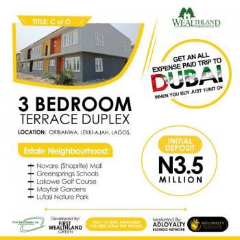 Wealthland Green Estate, Oribanwa, Ibeju Lekki, Lagos, Semi-detached Duplex for Sale