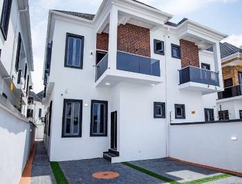 Brand New 4 Bedroom Semi Detached House with a Room Bq, Ikota Villa Mega Chicken, Ikota, Lekki, Lagos, Semi-detached Duplex for Sale