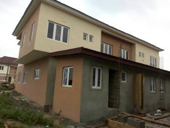 4 Bedroom Semi-detached Duplex (carcass), Sapphire Gardens Estate, Awoyaya, Ibeju Lekki, Lagos, Semi-detached Duplex for Sale