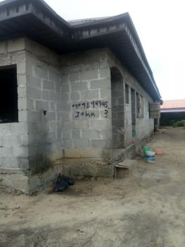 4 Bedroom Flat on One Plot of Land Is Available, Ibeju, Lagos, Terraced Bungalow for Sale
