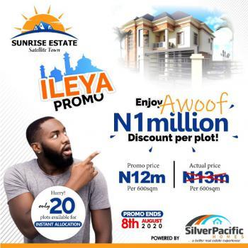 Land, Sunrise Estate, Satelite Town, Festac, Amuwo Odofin, Lagos, Residential Land for Sale