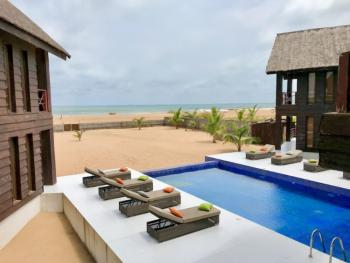Luxurious 6 Bedroom Waterfront Beach House, Private Beach, Ilashe, Lagos, House Short Let