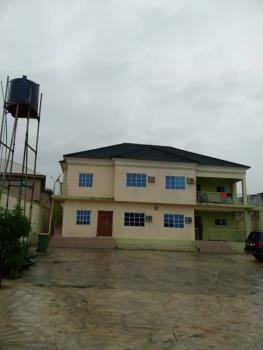 Recently Built 8 Bedrooms Duplex with 3 Big Shops, Dosunmu Street, Ogba, Ikeja, Lagos, Detached Duplex for Sale