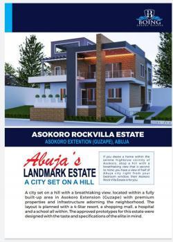 Land, Asokoro Rockvilla Estate, Guzape, Asokoro Extension, Asokoro District, Abuja, Residential Land for Sale