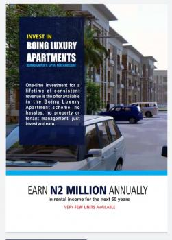 Boing Luxury Apartment., Behind Uniport, Choba, Port Harcourt, Rivers, Block of Flats for Sale