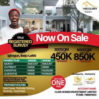 Most Affordable Estate, His Glory Estate Phase 2, Close to La Campagne Beach Resort, Igbogun, Ibeju Lekki, Lagos, Mixed-use Land for Sale