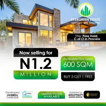 Land, Odo-egiri, Evergreen Estate, Epe, Lagos, Residential Land for Sale