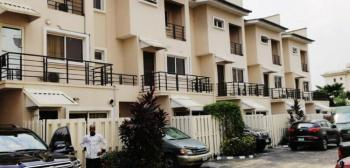 Four (4) Bedroom All Ensuite Terrace Duplex with a Room Bq and Swimming Pool, Banana Island, Ikoyi, Lagos, Terraced Duplex for Sale