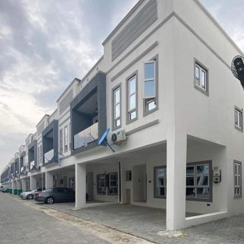 4 Bedroom Terrace Duplex (serviced), Chevron Tollgate, Lekki, Lafiaji, Lekki, Lagos, Terraced Duplex for Sale