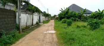 Bare Dry Land 2 Plot in a Good Neighborhood, Off Manifold, Rukpokwu, Port Harcourt, Rivers, Residential Land for Sale