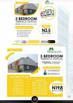 Certificate of Occupancy, Wealthland Green Estate, Oribanwa, Ibeju Lekki, Lagos, Terraced Duplex for Sale