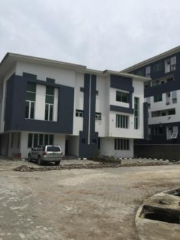 Well Built 4br Semi Detached with a Bq in Estate with 24hrs Power, Ikate Elegushi, Lekki, Lagos, Semi-detached Duplex for Sale
