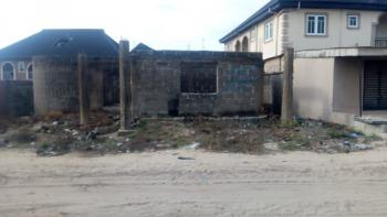 Distress 3 Bedroom Structure, Era Town, Iyana Era, Badagry, Lagos, Detached Bungalow for Sale