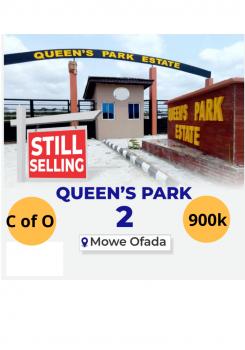 C of O Land, Mowe Ofada, Ogun, Residential Land for Sale
