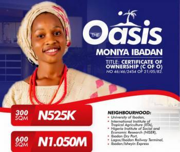 C of O, Premium Oasis Gardens Moniya, Akinleye Local Government, Ibadan, Oyo, Mixed-use Land for Sale