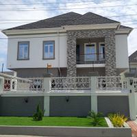 5 Bedroom Detached Duplex (all En-suite) With Cctv, Intercom, Jacuzzi, Central Multi Media System, Fitted Kitchen, Pop, Car Port, Ante Room, Family Lounge And Boys Quarters, Chevy View Estate, Lekki, Lagos, 5 Bedroom, 6 Toilets, 5 Baths House For Sale