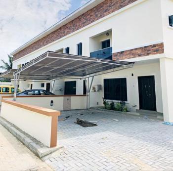 Serviced 3 Bedroom Terraced Duplex with a Maids Room, Buene Vista Estate, Lafiaji, Lekki, Lagos, Terraced Duplex for Rent