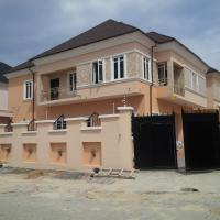 5 Bedroom Detached Duplex (all En-suite) With Jacuzzi, Fitted Kitchen, Ante Room, Family Lounge, Ample Parking Space And Boys Quarters, Chevy View Estate, Lekki, Lagos, 5 bedroom, 6 toilets, 5 baths Detached Duplex for Sale