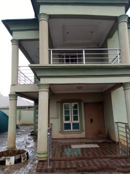 a Four Bedroom Duplex with Bq and All Necessary Facilities., Ijapo Estate Extension, Akure, Ondo, Detached Duplex for Sale