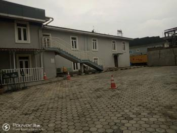 a Self-serviced 900 Square Meters Open Plan Commercial Building, Awolowo Way, Ikorodu, Lagos, Office Space for Rent