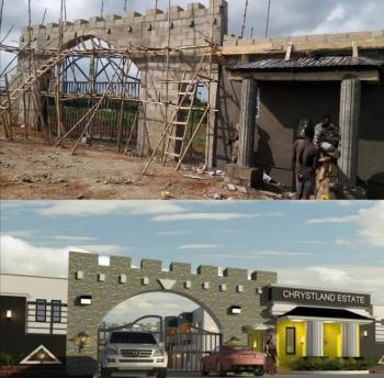 Ready to Build Free Hold Dry Land in an Already Occupied Environment., Chrystland Estate in The Central Part of Epe By Augustine University, Epe, Lagos, Mixed-use Land for Sale