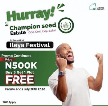 Sweet Land Deal, Ode Omi, Ibeju Lekki, Lagos, Mixed-use Land for Sale