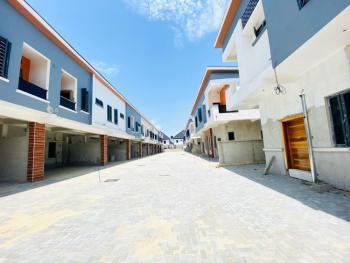 Newly Built & Spacious 4 Bedroom Terrace in a Developed & Secured Area, Chevron Drive, Lekki, Lagos, Terraced Duplex for Sale