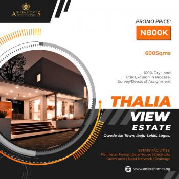 Excision in Process, Ibeju Lekki, Lagos, Mixed-use Land for Sale