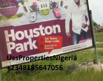 Cheapest Land in Ibeju-lekki (houston Park Estate By Revolution Plus), Land for Sale in Ibeju-lekki  (houston Park), Ibeju Lekki, Lagos, Mixed-use Land for Sale