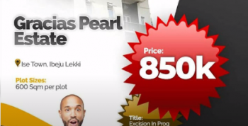 1,2,3, 4 Plots of Land in Gracias Pearl Estate Ibeju Lekki, Cheap Affordable Plots in Gracias Pearl Estate Ibeju Lekki, Ibeju Lekki, Lagos, Mixed-use Land for Sale