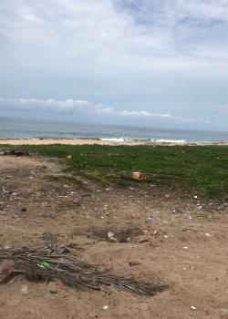Hot and Excised Beach Front Plots, Beach Front Park and Garden, Facing Eleko Beach, Ibeju Lekki, Lagos, Land for Sale