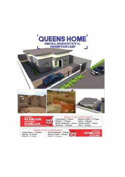 2 Bedroom Apartments, 2 Bedroom Apartments Behind Redemption Camp, Simawa, Ogun, Block of Flats for Sale