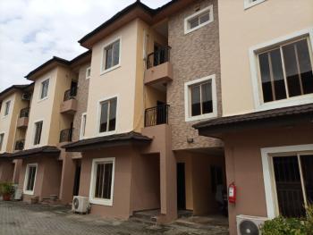 a Fully Serviced 4 Bedroom Terrace Duplex with a Room Servant Quarter, Lekki Phase 1, Lekki, Lagos, Terraced Duplex for Rent