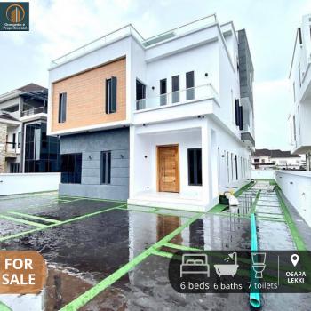 Magnificent 6 Bedroom Detached House, Pinnock Osapa., Osapa, Lekki, Lagos, Detached Duplex for Sale