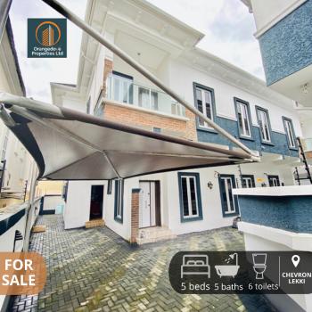 Well Built 5 Bedroom Duplex with Bq in Chevron Lekki, Chevron, Lekki, Lagos, Semi-detached Duplex for Sale