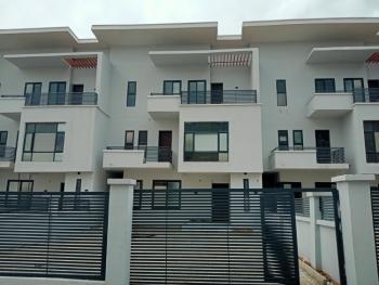 a Well Built Town House, Guzape District, Abuja, Semi-detached Duplex for Rent