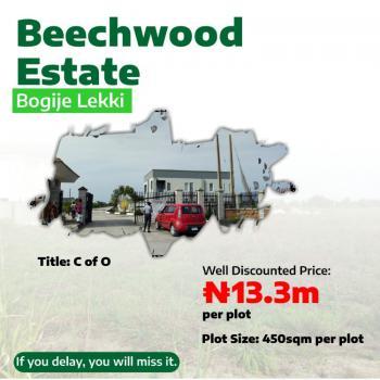 Residential Estate with Existing Infrastructures., Bogije Lakowe,ajah Facing The Lekki Epe Express Way., Ajah, Lagos, Residential Land for Sale