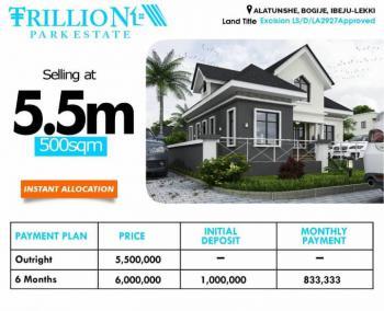 Trillion Park Estate Bogije Lekki, Ibeju Lekki, Lagos, Residential Land for Sale