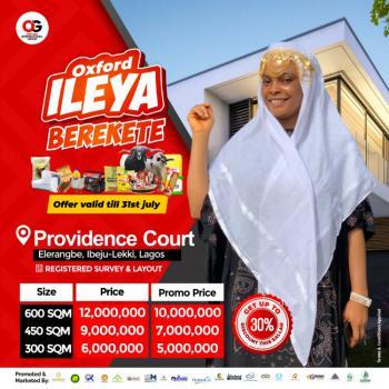 Providence Court Estate Elerangbe Ibeju Lekki, Ibeju Lekki, Lagos, Residential Land for Sale