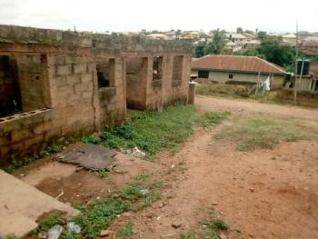 Uncompleted Building of 4 Self-contained Room and Parlour, Apete, Poly Ibadan Enviroment, Ibadan, Oyo, Block of Flats for Sale