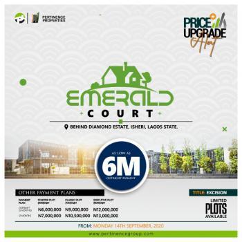 Land, Emerald Court - Behind Diamond Estate, Isheri, Lagos, Residential Land for Sale