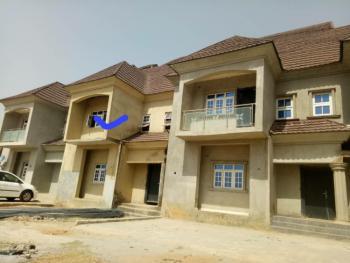 Distress 4 Bedroom Carcass Terrace Duplex, Close to Mab Global Estate, Gwarinpa, Abuja, Terraced Duplex for Sale